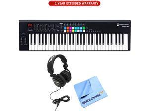Novation Launchkey 61 USB Keyboard Controller 61-Note MK2 Ver. + Warranty Bundle