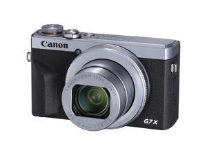 Canon PowerShot G7 X Mark III 20.1MP 4.2x Optical Zoom Digital Camera-Silver(3638C001)