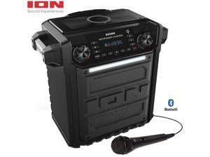 Ion Audio Pathfinder Charger, Bluetooth Portable Speaker w/ Wireless Qi Charging - Renewed