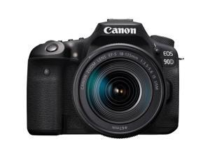 Canon EOS 90D 32.5MP CMOS Digital SLR Camera w/ EF-S 18-135mm f/3.5-5.6 IS USM Lens
