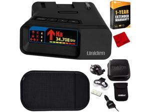 Uniden R7 Long Range Police Laser/Radar Detector w/ Arrow Alert +Warranty Bundle