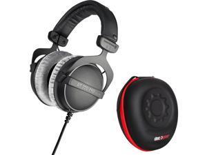 BeyerDynamic DT 770 PRO 250 Ohms Studio Headphones with Deco Gear Hardbody Case Bundle