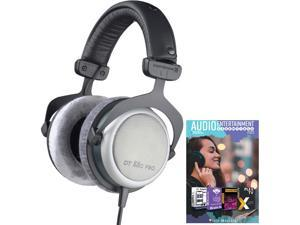 BeyerDynamic DT-880 Pro Headphones 250 Ohm + Audio Entertainment Bundle