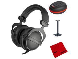 BeyerDynamic DT 770 Pro Closed Dynamic Headphones - 32 Ohm w/ Accessories Bundle