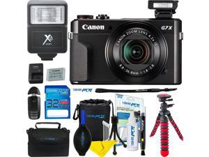 Canon PowerShot G7 X Mark II 20.1MP 4.2x Optical Zoom Digital Camera + Expo Essential Accessories Bundle - International Version