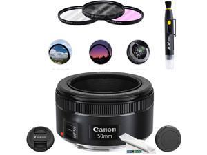 Canon EF 50mm f/1.8 STM Lens + Deal Expo Kit