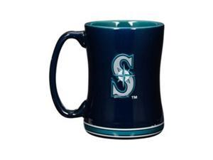 Seattle Mariners Coffee Mug - 14oz Sculpted Relief