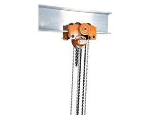 Vestil LOW-6G Low Headroom Chain Hoist Trolley Gear, 6000 lbs