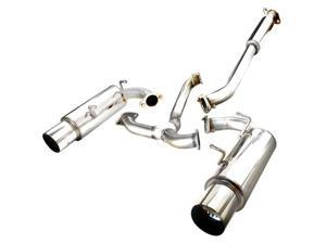 Spec-D Tuning MFCAT2-FRS12 Catback Exhaust System Dual Tip for 12 Scion FRS, 18 x 12 x 54 in.
