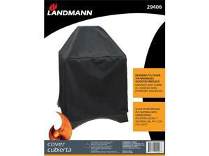 Grandezza Cover Black Polyester With Pvc Lining