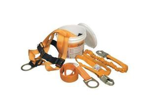 Miller By Honeywell 493-TFPK-1-U-6FTAKU Ready Worker Fall Protection Kit, Universal