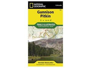 Gunnison And Pitkin Trail Map
