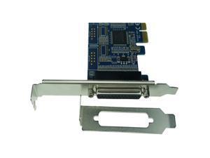 MCS9901CV CC PCI-e 1 Parallel Controller card PCI-express to DB25 printer LPT 1 port Expension Converter Card PCI02303