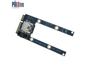 Mini pci-e to usb adapter card mini pcie expansion usb2.0 converter card