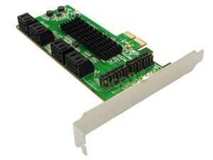 Marvell Chipset 8 Ports SATA 6GB PCI Express Controller Card PCI-e to SATA 3.0 converter Supports NCQ & Port Multiplier FIS