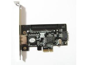 PCI-e PCIE PCI express to IDE SATA2.0 eSATA Combo Controller Card 1Port IDE + 1port SATA + 1port eSATA RAID Card JMB363 Chip