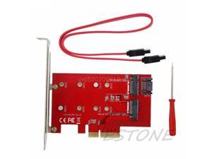 SSD NGFF SSD Adapter Riser M.2 Key M: NGFF WBTUO PCI-E X4 to Key Network Adapter//Card LM-412N Desktop B: M.2 Red