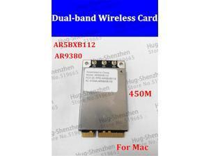 AR5BXB112 AR9380 Dual-Band Mini PCI-E 450Mbps Airport Wireless Wifi Card for WIN10 MAC No Drive