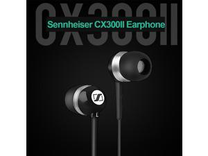 Sennheiser CX300II Music Headphones 3.5mm Wired Stereo Headset Enhanced Bass Earbuds Smart Phone Earphone