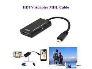 Micro USB To HDMI Adapter For TV Monitor 1080P HD HDMI Audio Video Cable MHL Converter For Samsung HUAWEI HTC MHL Device