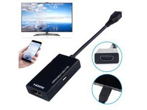 EastVita Micro USB to HDMI HD Adapter cable Male to Female  1080P HD HDMI Audio Video Cable MHL Converter  for TV PC Laptop