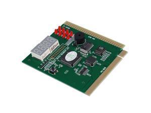 4-Digits Analysis Diagnostic Motherboard Tester Desktop PCI Express Card