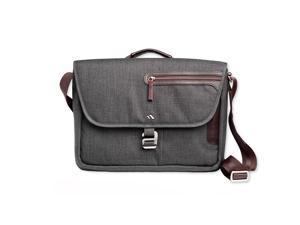 Brenthaven Collins Horizontal Messenger Bag For Microsoft Surface Pro, Graphite
