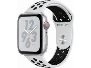Apple Watch Nike+ Series 4 GPS + 4G 44mm, Silver Aluminum Sports Band