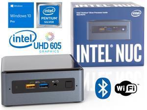Intel NUC7PJYH Mini PC, Intel Pentium Silver J5005 Upto 2.8GHz, 8GB RAM, 256GB SSD, HDMI, Card Reader, Wi-Fi, Bluetooth, Windows 10 Pro