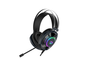 Dareu Gaming Headset for PS4 PC Laptop Headset with Microphone Noise Cancelling Stereo Surround Sound Headphone with LED light Volume Control