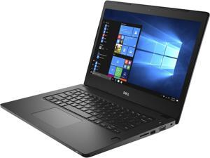 "Dell Latitude 3480 14"" Business Laptop – i5-7200U, 8GB RAM, 240GB SSD, Touch Screen, Webcam, HDMI, Windows 10"