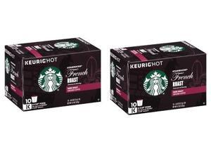 Starbucks French Roast Dark Keurig K-Cups 2 Box Pack