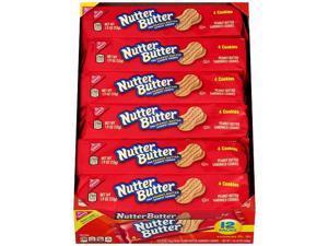 Nabisco Nutter Butter Peanut Butter Sandwich Cookies Tray Pack