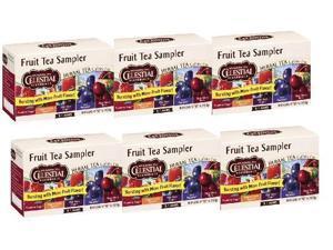 Celestial Seasonings Fruit Tea Sampler Tea 6 Pack