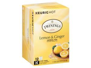 Twinings of London Lemon & Ginger Herbal Tea Keurig K-Cups