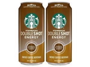 Starbucks Doubleshot Energy Mocha 2 Can Pack