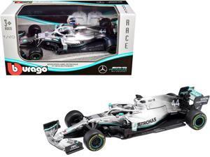 Mercedes AMG Petronas F1 W10 EQ Power+ #44 Lewis Hamilton Formula One Car 1/43 Diecast Model Car by Bburago
