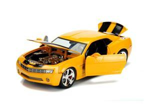"""2006 Chevrolet Camaro Concept Bumblebee Yellow from """"Transformers"""" Movie Hollywood Rides Series 1/24 Diecast Car by Jada"""