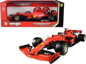 Ferrari SF90 #5 Sebastian Vettel F1 Formula 1 (2019) 1/18 Diecast Model Car by Bburago