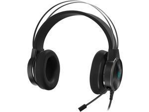 Acer Predator Galea 500 Over-The-Head Headset with Boom Mic - Metallic Black
