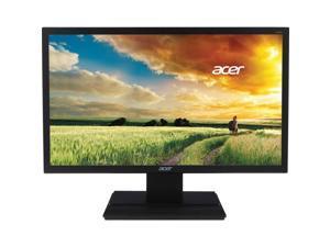 "Acer V6 V246HQL 24"" (23.6"" Viewable) Full HD 1920 x 1080 LED Monitor, 60 Hz, 250 cd/m2, 3000:1, 5 ms. VA, DVI/HDCP, VGA, Black"