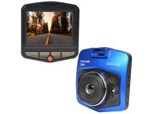 "Craig CCR9030 720p Digital Dash Cam w/2.4"" LCD & Windshield Mount (Blue)"