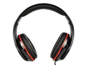 Craig CHP5008-BK Foldable Stereo Headphones w/3.5mm Plug (Black)