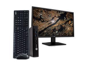 "HP EliteDesk 800 G2 Desktop Mini Business PC Computer, Intel Quad Core i5-6500T, 16GB RAM, 1TB SSD, Windows 10 Pro, 23.6"" FHD LED Monitor, 16GB Flash Drive, Wireless Keyboard & Mouse, WiFi"