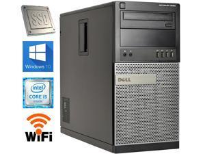DELL Optiplex 9020 MidTower PC / Intel Core i5 4th Gen 4570 (3.2 GHz) / 16 GB RAM / 120 GB *NEW* SSD / 1 TB HDD / Windows 10 Pro 64-Bit / USB Wifi Adapter Included