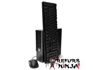 Dell Optiplex 990 Ultra Small Desktop PC, Intel Quad Core i5 (2.50GHz) Processor, 8GB RAM, 512GB Solid State Drive, Windows 10 Professional, DVD, HDMI, Bluetooth, Keyboard, Mouse, WiFi