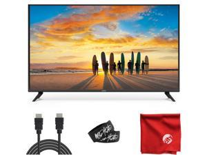 VIZIO V-Series 40-Inch 2160p 4K UHD LED Smart TV (V405-G9) with Built-in HDMI, USB, Dolby Vision HDR, Voice Control Bundle with Ultra HD 6' 4K 3D HDMI Cable and Accessories