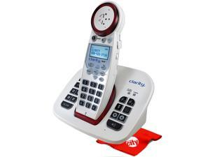 Clarity XLC8 Dect 6.0 Moderate Hearing Loss Extra Loud Big Button Amplified Cordless Phone Slow Talk Call Blocker Answering Machine Bundle with Circuit City Microfiber Cloth