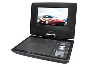 SuperSonic Portable TFT Swivel Display DVD Player with Digital TV Tuner, USB/SD Inputs and AC/DC SC-257A