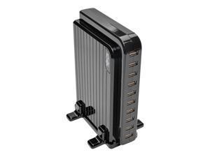 Tripp Lite 10-Port USB Charging Station, 5V 21A / 105W USB Charger Output (U280-010)